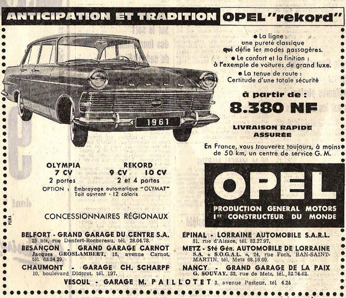 pub et manchettes d 39 hier 1961 l 39 est republicain du jeudi 13 avril. Black Bedroom Furniture Sets. Home Design Ideas