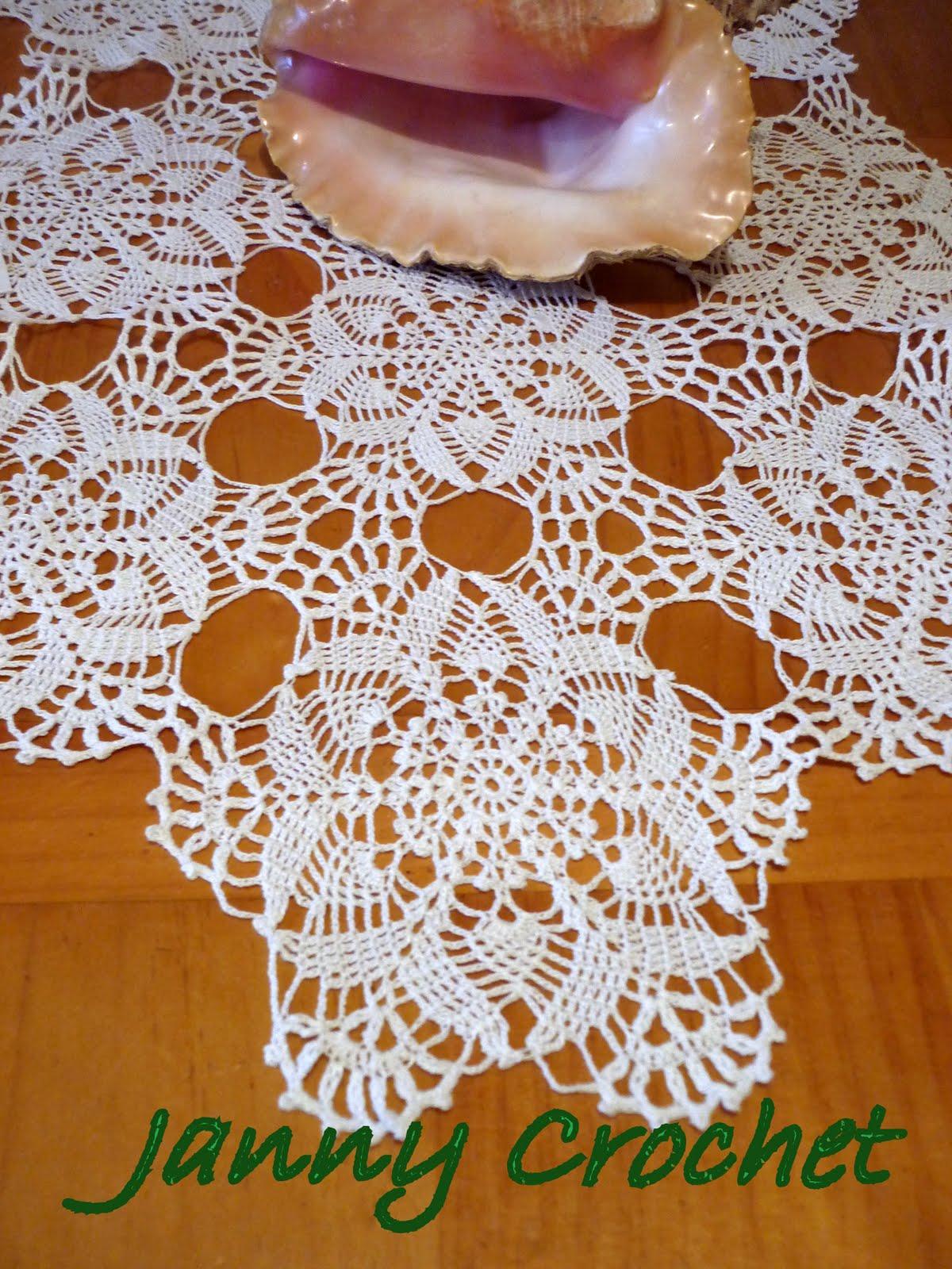 Patrones caminos de mesa a crochet pra venta chile filmvz for Camino de mesa a crochet