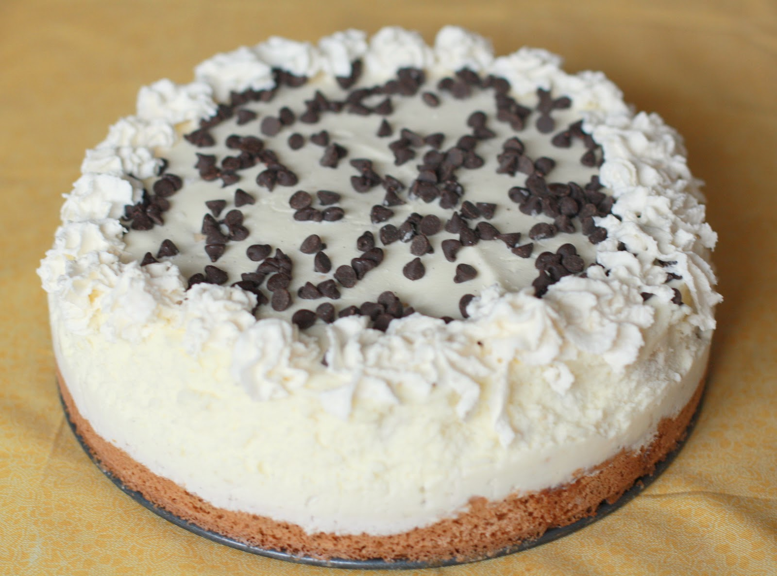 food.music.life.: Chocolate Chip Cookie Dough Ice Cream Cake