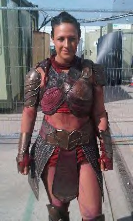 Women Wearing Revealing Warrior Outfits - Page 15 Kkm