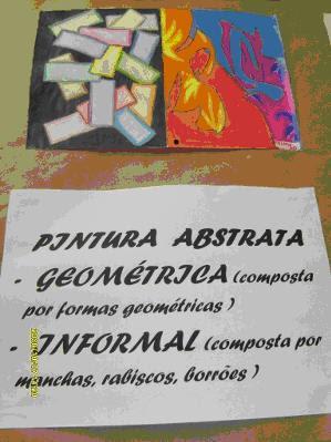 Pintura abstrata informal