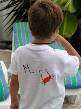Camiseta cangrejos