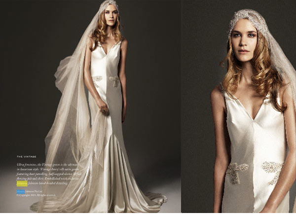 Johanna Johnson 1930\'s Inspired Wedding Dresses - Exclusive ...