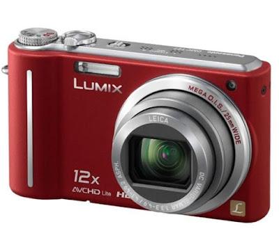 Panasonic Lumix DMC-TZ7 in Red