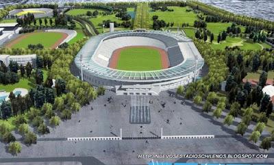 estadio nacional con techo