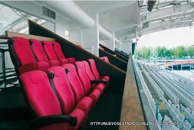 palcos del estadio monumental de colo colo
