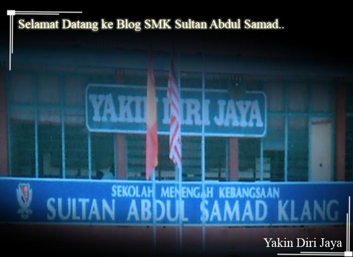 Blog SMK Sultan Abdul Samad