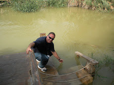 Me at the Jordan River in October of 08