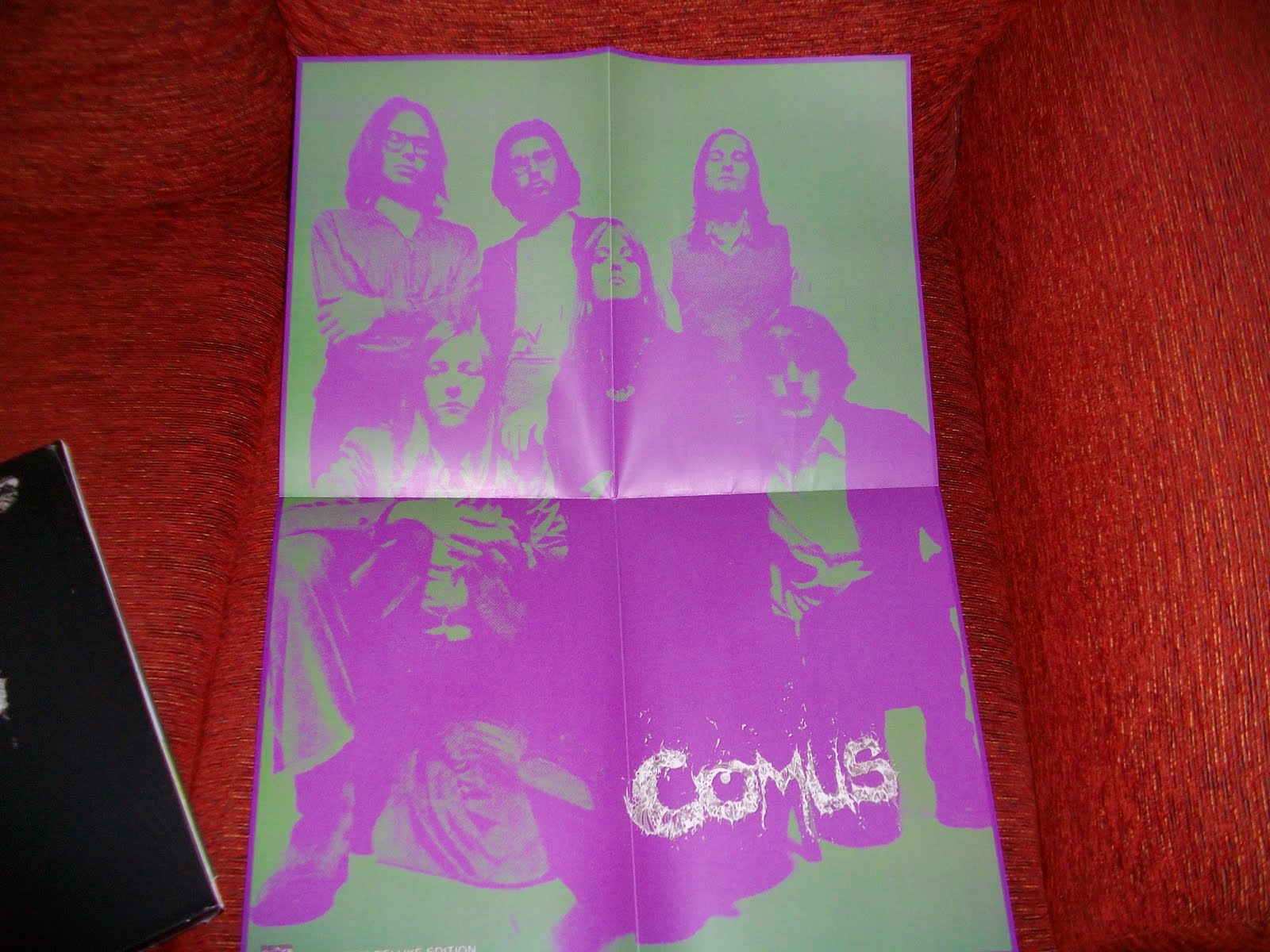 Couch Slouch Comus First Utterance Lp Repress