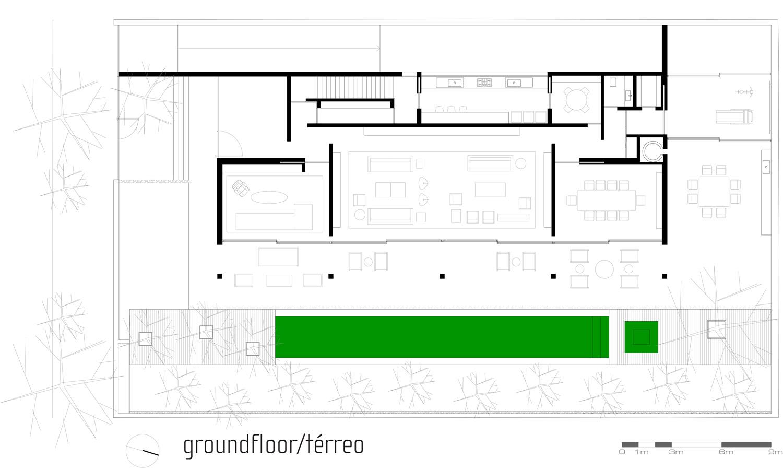 Archidia brick house for Marcio kogan plans