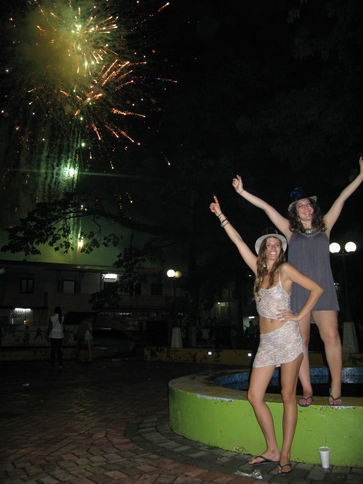 happy new year from bocas del toro panama