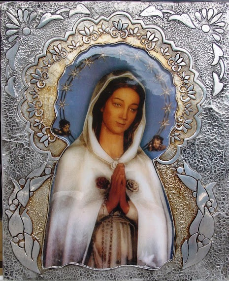 Virgen Rosa Mistica