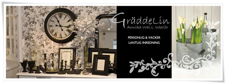 Gräddelin - Annika Wall Interiör