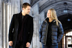 Fringe Promotional Photo: Joshua Jackson as Peter Bishop and Anna Torv as Olivia Dunham