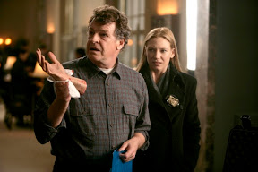 FRINGE: Walter (John Noble, R) takes a dead man's hand back to his lab for analysis in the FRINGE episode Safe