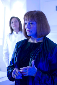 FRINGE: Nina Sharp (Blair Brown) checks in on John Scott (Mark Valley, not pictured) in the FRINGE episode Safe