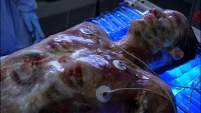 Translucent John Scott (Mark Valley) from Fringe episode 'Pilot'