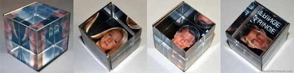 Fringe Crystal Cube