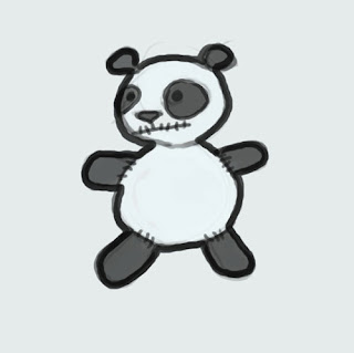 Gallery For gt Easy To Draw Cute Panda