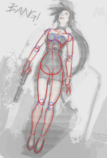 how to draw female body for beginners
