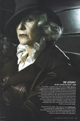 Helen Mirren in Vanity Fair
