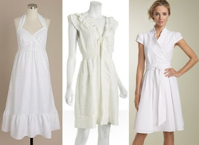 Summer Dress on Fashion Me Fabulous  Top 5 White Summer Dresses