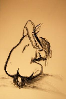life drawing sketch ophelia keys