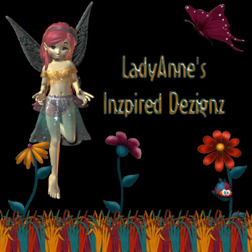 Lady Anne's Inzpired Dezignz Taggers Scraps
