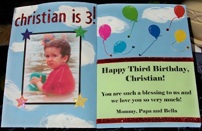 Los Luceros de Arizona Party of Four Christians Birthday Card