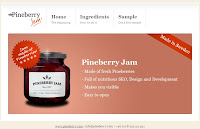 Pineberry Jam