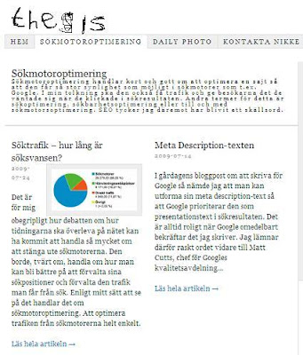 Thesis WordPress Theme Screenshot