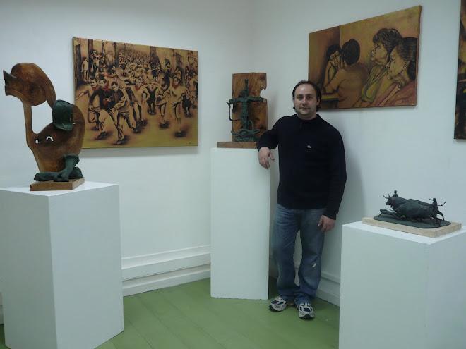 El sculptor Dyango Velasco