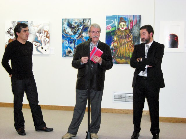 The speech of D.Francisco Pablos, President of the Royal Academy of Fine Arts Galicia