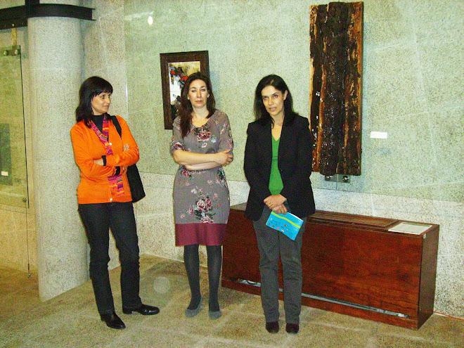 The speechs: Carla Taveira, Paula Fernandes and Adelaide Teixeira