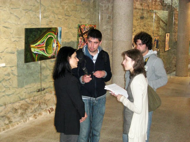 The interview of Dr.ª Adelaide Teixeira, Councillor of Culture