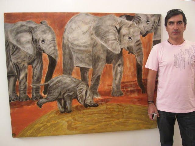 Urbano and 'Baby Elephant'