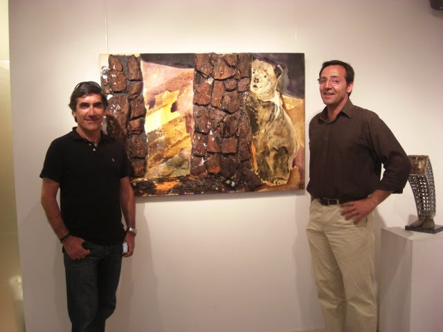 Francisco Urbano (Agenzia) and Miguel Moreira (VerArte Gallery)