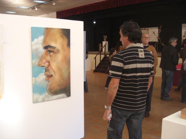 The work of Sílvia Marieta 'Contemplação'