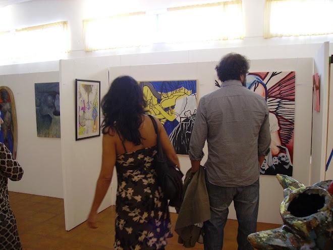 The works of Gilmara Oliveira (Brasil) and Maria José Taboas (Spain)