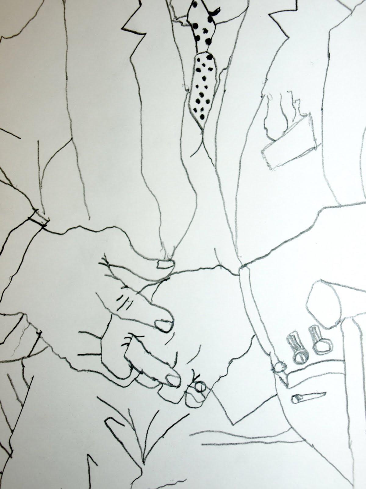 Line Drawing Upside Down : Art instructor danica papali upside down line drawings
