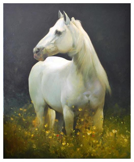 white horse manuel garcia