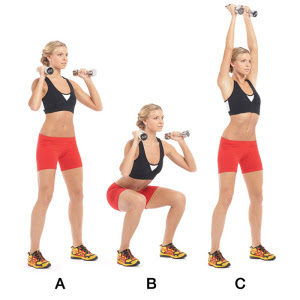 Fit by definition exercise of the day thruster