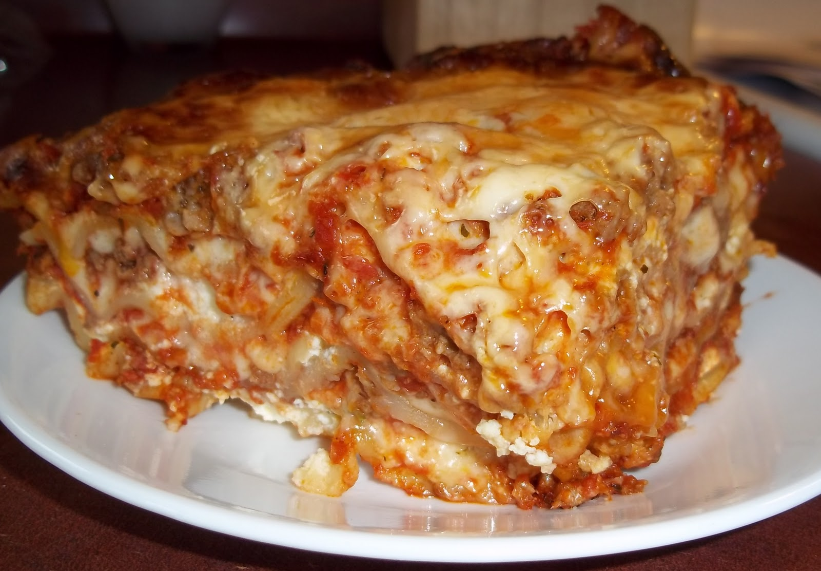 The Daily Smash: Two Meat Lasagna