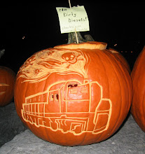 No Dirty Diesels! Pumpkin at the Pumpkin Parade