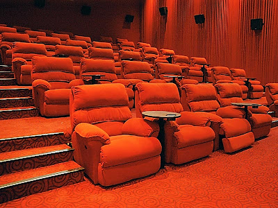 Gold class cinema seats would definitely be at the top of the list.
