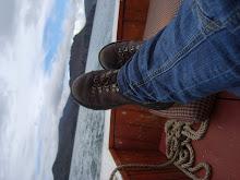 Navegando en el titicaca