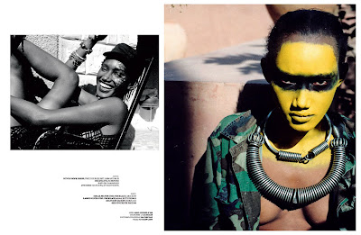 >Hot SHoot: | Jaunel McKenzie pour Arise Magazine