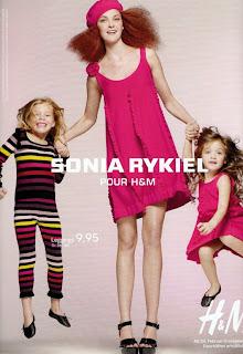 Campagne pub Sonia Rykiel pour H&M 2010