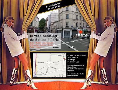 Le vide dressing de 5 filles à Paris – 2nd édition