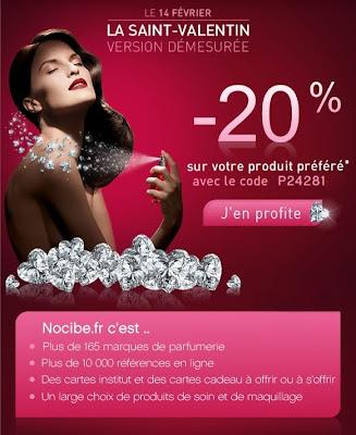 >La Saint-Valentin version démesurée – 20% Chez Nocibé